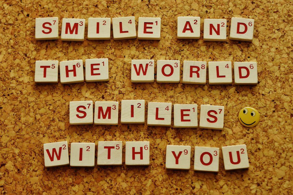 Smile - Happy Mood Happy Food