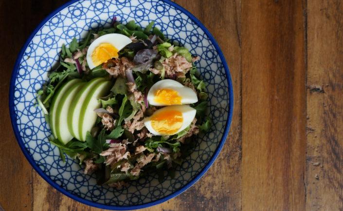 Salade met tonijn - Happy Mood Happy Food
