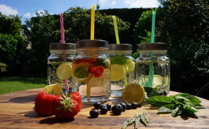 Water met een smaakje - Happy Mood Happy Food
