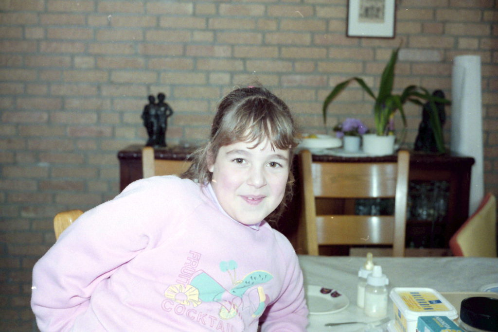 Annemarie als kind - Happy Mood Happy Food