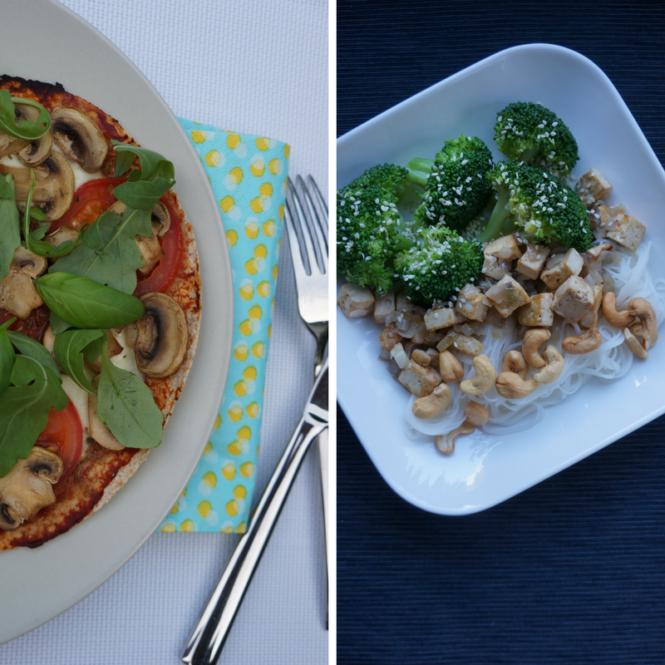 Vegetarisch avondeten - Happy Mood Happy Food