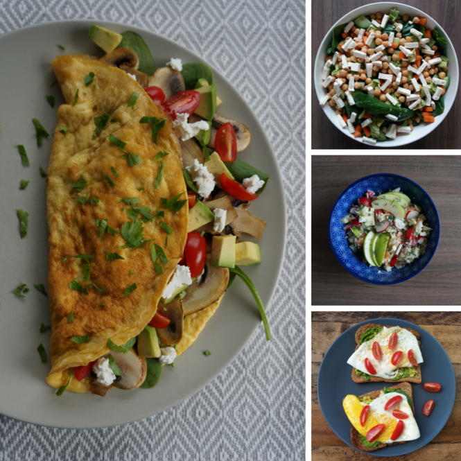 Vegetarische lunches - Happy Mood Happy Food